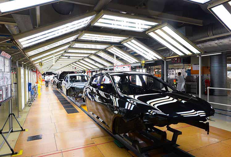 La fábrica de Martorell de SEAT