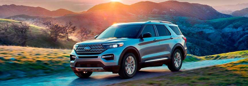 nueva ford explorer 2020 gris