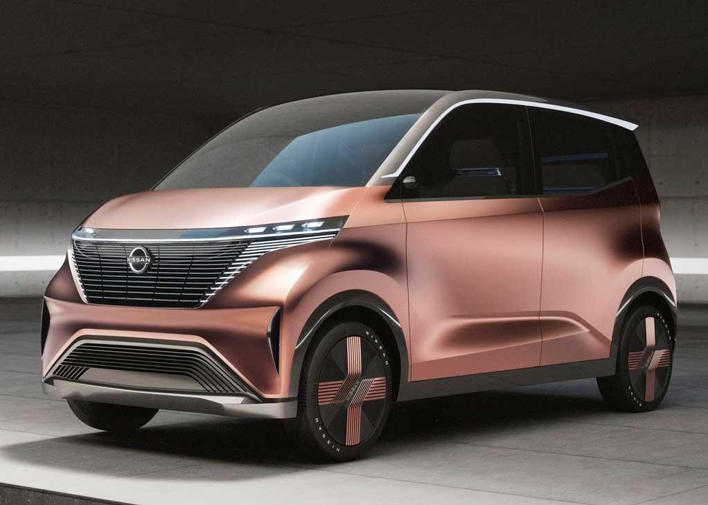 nissan imk concept autos electricos