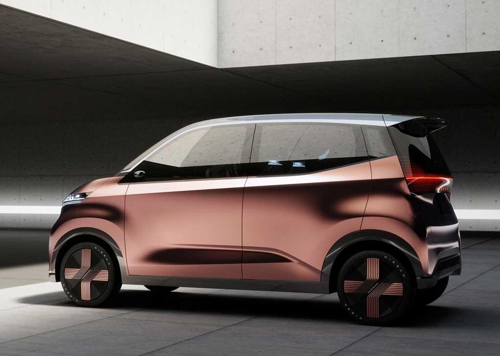nissan imk concept auto electrico