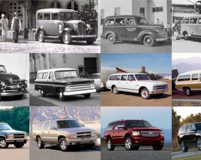 historia de chevrolet suburban