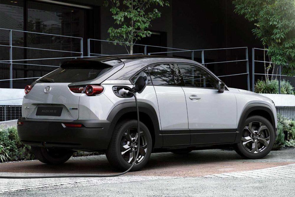 Mazda MX-30 vehiculo electrico