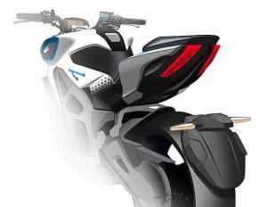 moto electrica kymco revonex