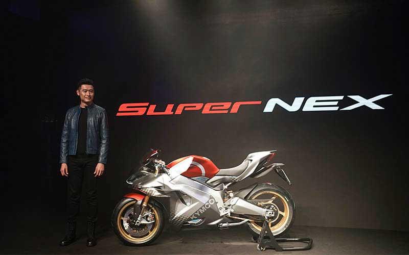 SuperNEX en el EICMA Milan Motorcycle Show