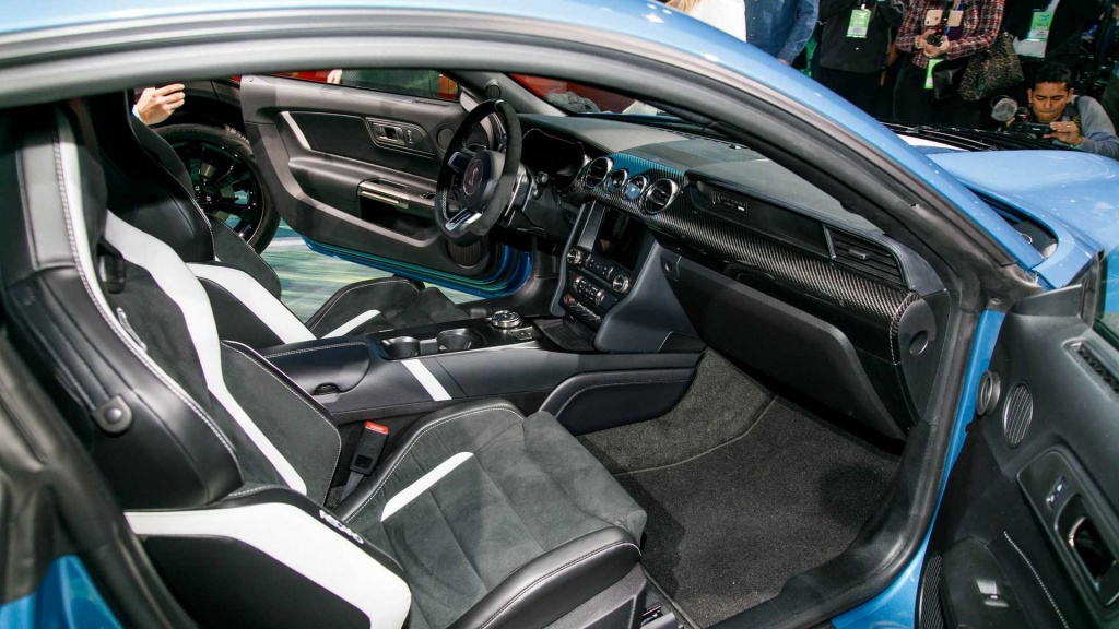 Ford Mustang Shelby GT500 2020 interior