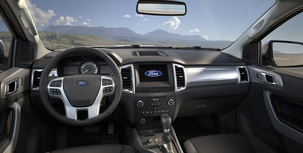 Características de Ford Ranger 2020