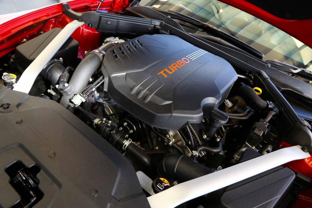 Motor del KIA Stinger GT420