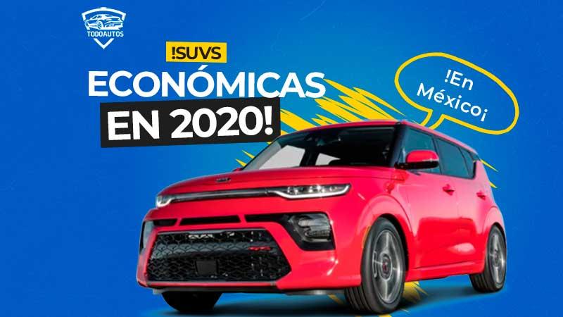 camionetas suvs mas economicas en mexico
