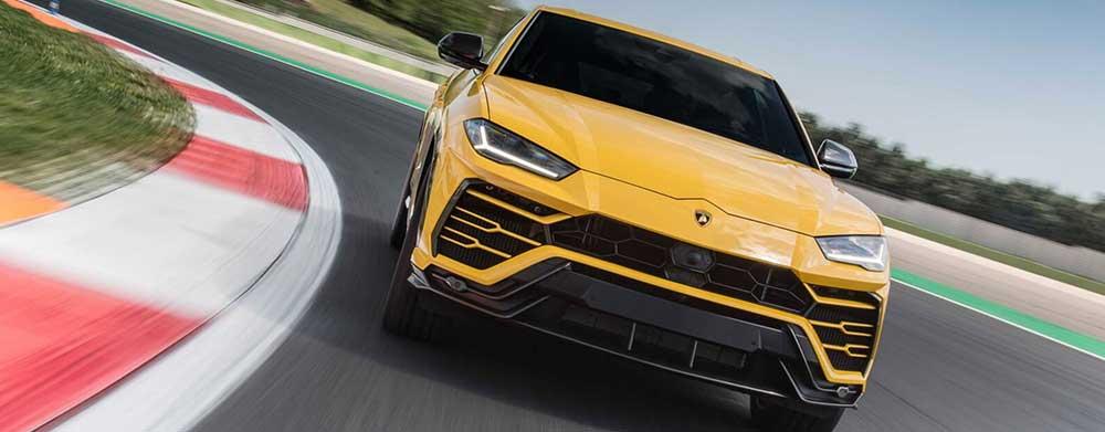 Lamborghini Urus amarillo