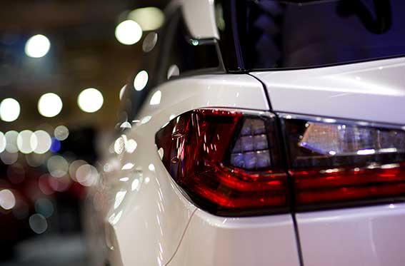 polarizado de vidrios auto blanco