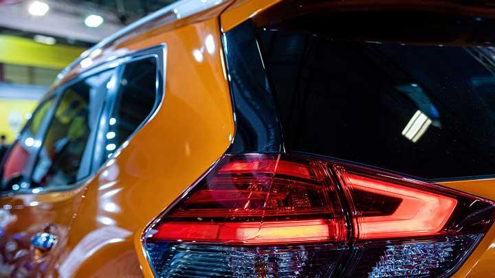 polarizado de vidrios camioneta naranja