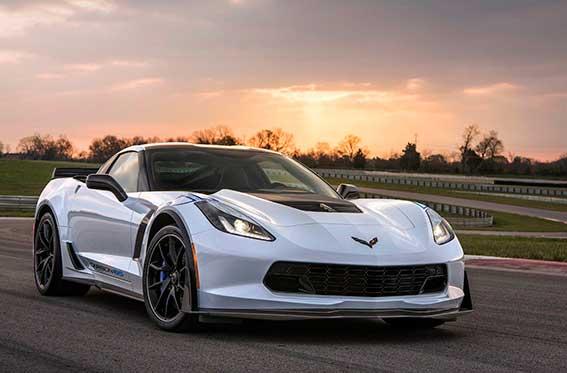 auto deportivo blanco