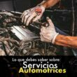 Servicios automotrices de mecánica rápida