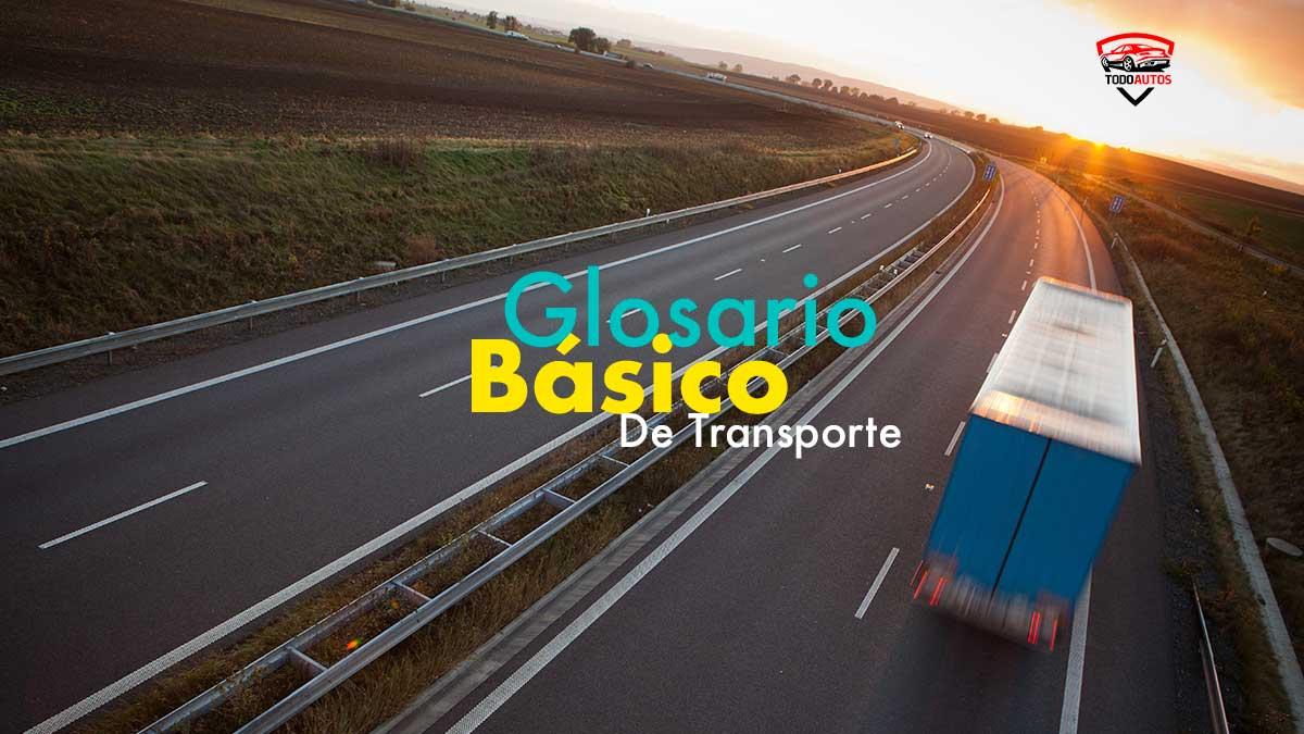 glosario basico de transporte