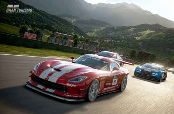 Ford en Gran Turismo Sport 2017