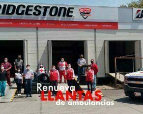 llantas bridgestone mexico renueva neumaticos ambulancias