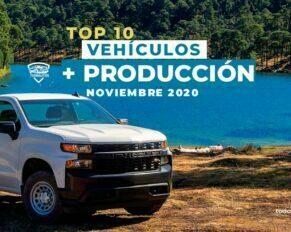 TOP 10 autos con más producción