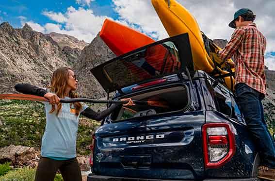 camioneta suv para acampar