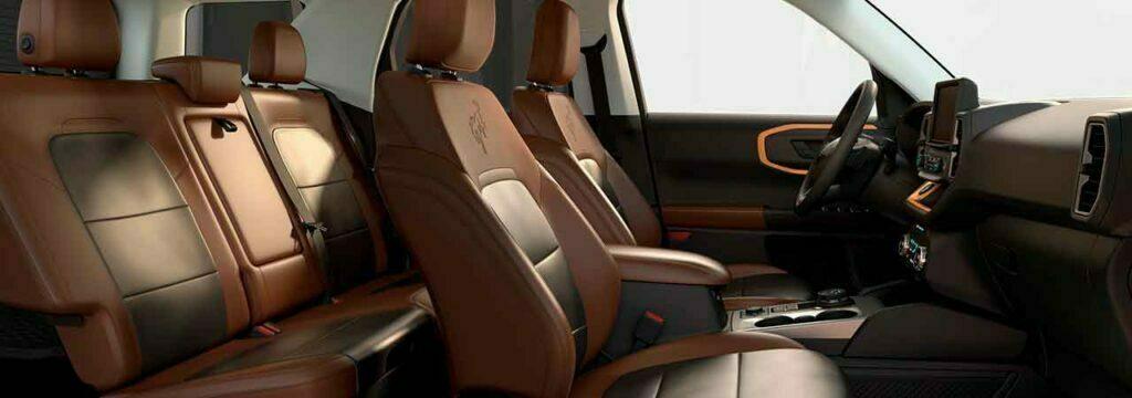 ford bronco 2021 interior