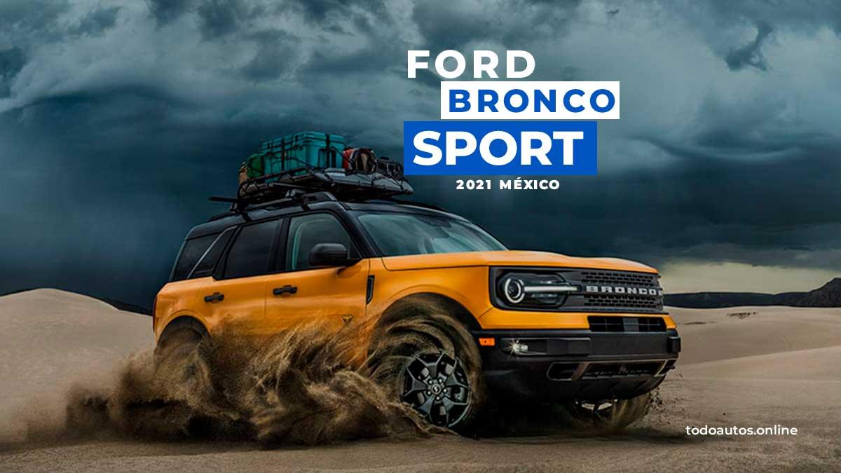 ford bronco sport 2021 mexico