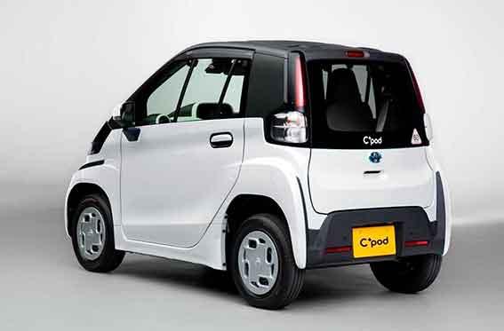 auto electrico Toyota C+Pod