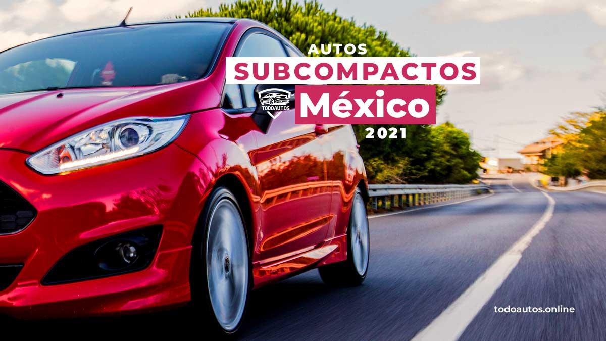 autos subcompactos mexico