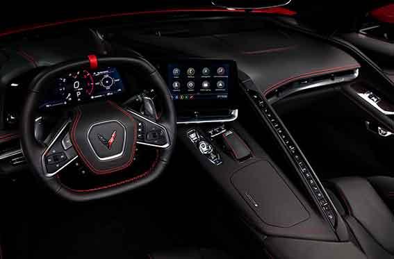 interior corvette 2021