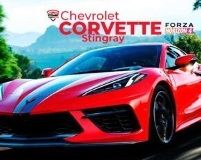 chevrolet corvette stingray en forza horizon 4