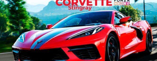 chevrolet corvette stingray en forza horizon 4